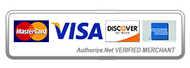 We are verified to accept Mastercard, VISA, and Discover Cards. We will be accepting American Express Soon