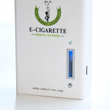 901 E-Cig PCC Charging Case with Built-in Battery and Battery Meter - White