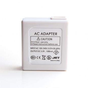 Wall to USB adaptor charger for E-cigs - 110 volt~5 volt (1000mAh)