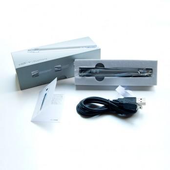 EGO-V Battery with LCD - variable voltage 3.0-6.0V - Matte Grey